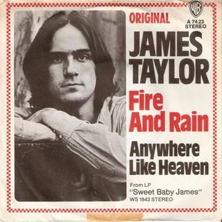 """P.J.'s Ultimate Playlist #1: """"Fire and Rain"""" by James Taylor"""